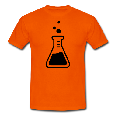 chemist flask profession T-Shirts