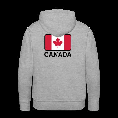 Flag Canada 2 (3c) Hoodies & Sweatshirts