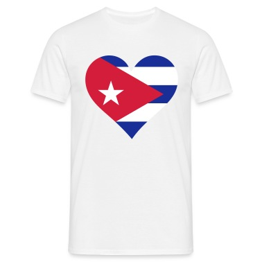 Heart Cuba (3c) T-Shirts