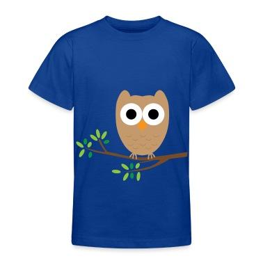 owl Kids' Shirts