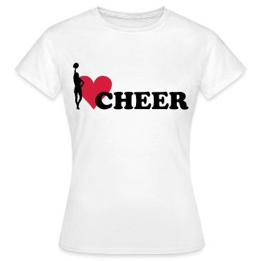 I love Cheerleading T-Shirts