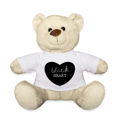 black heart Teddies