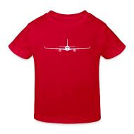 T-Shirts ~ Kinder Bio-T-Shirt ~ Junior Flieger