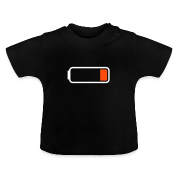 """Battery low"" Baby T-Shirt"