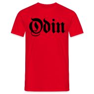 T-Shirts ~ Men's Standard T-Shirt ~ Odin t-shirt- red/black