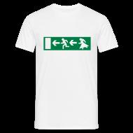 Letzte Chance – Notausgang | Polterabend T-Shirt