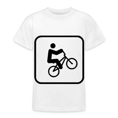 bmx sign Kids' Shirts