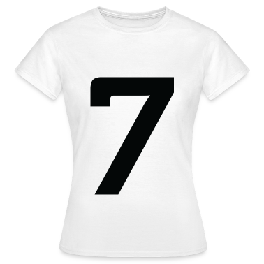 Number 7 (dd)++ T-Shirts