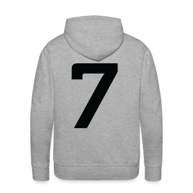 Number 7 (dd)++ Hoodies & Sweatshirts