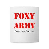 Bottles & Mugs ~ Mug ~ Foxy Army mug