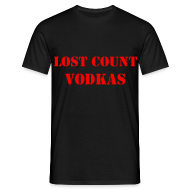 T-Shirts ~ Men's Standard T-Shirt ~ Vodka men's tee