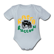Rasta Raccoon Body neonato