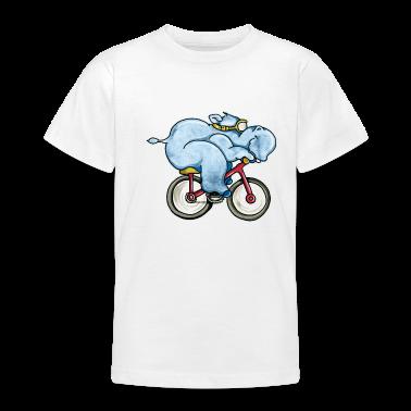 Le giostre Hippo una moto T-shirt bambini