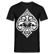 T-Shirts ~ Men's Standard T-Shirt ~ Ace of Spades Men's shirt - black/white