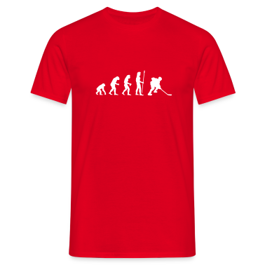 evolution_icehockey1 T-Shirts