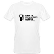 Tee shirts ~ Tee shirt bio Homme ~ Arme de destruction massive