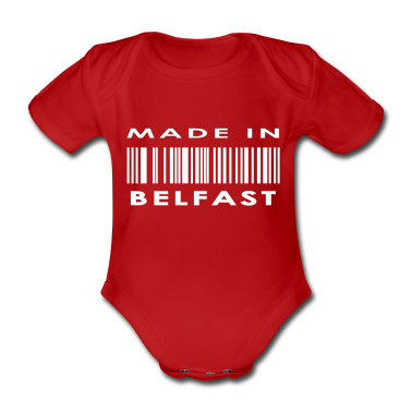 Made in Belfast Baby Bodysuits
