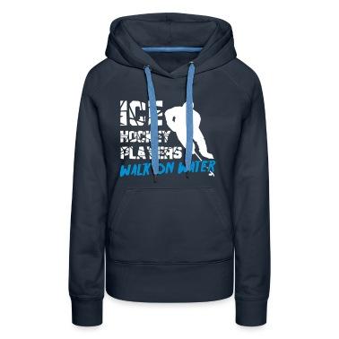 Ice Hockey Players Walk on Water Hoodies & Sweatshirts