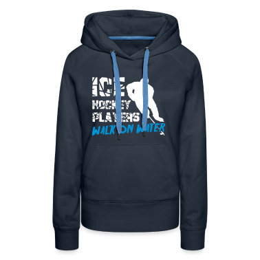 Ice Hockey Players Walk on Water Hoodies & Sweatshirts