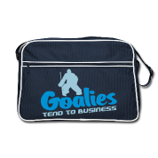 'Goalies Tend To Business' Sac Retro