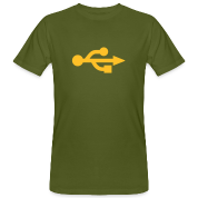 USB Logo T-Shirt - Spreadshirt