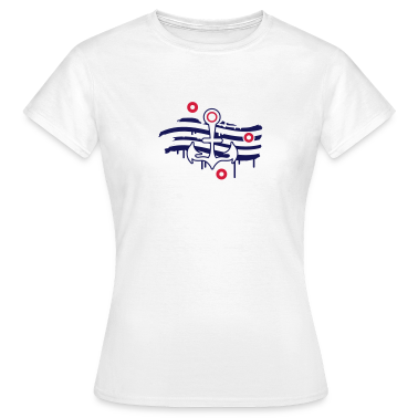 An anchor and a striped sail T-Shirts