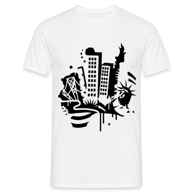 A New York City Design   in graffiti style T-Shirts