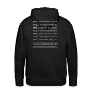 Hoodies & Sweatshirts ~ Men's Hoodie ~ Detailing World 'Questions' Hooded Top
