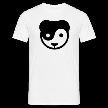 yin yang panda teddy T-Shirts