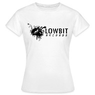 T-Shirts ~ Women's Standard T-Shirt ~ Lowbit Records Women's Classic T-Shirt (Black Print)