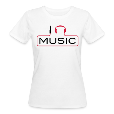 I love music plug headphones sound bass beat catch cable music i love techno minimal house club dance dj discjockey electronic electro T-Shirts