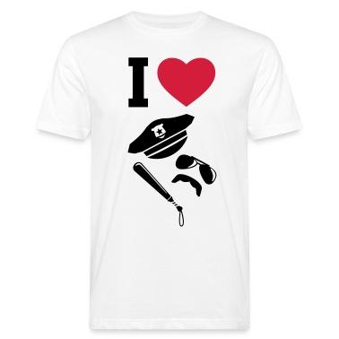 I LOVE - Police - Uniforms - Carnival T-Shirts