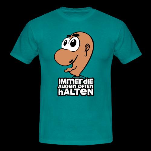 Männer T-Shirt klassisch - T-Shirts Augen auf