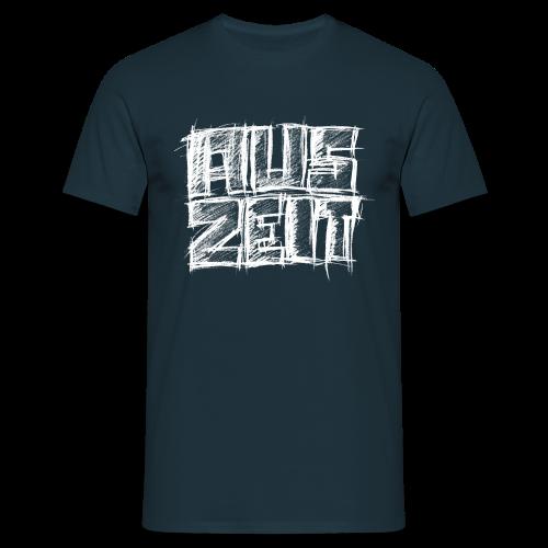 Männer T-Shirt klassisch - T-Shirts Auszeit weiß