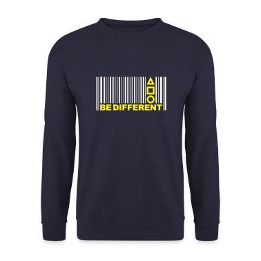 Be Different - Barcode - Symbols - Bar code Hoodies & Sweatshirts