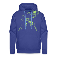 Hoodies & Sweatshirts ~ Men's Hoodie ~ They're Already Here - Men's Hoodie
