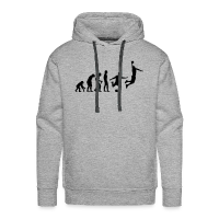 Men's Hoodie with design Basketball Evolution