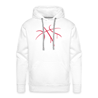 Men's Hoodie with design Basketball Paint