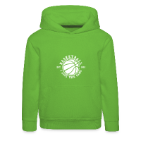 Kids' Hoodie with design Basketball - I love this game