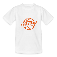 Teenage T-Shirt with design Basketball Slogan Ball