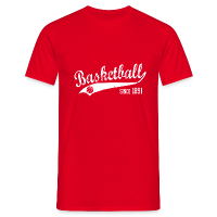 Men's T-Shirt with design Basketball Since 1891 Slogan