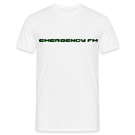 T-Shirts ~ Men's Standard T-Shirt ~ EmergencyFM Text Logo T-Shirt