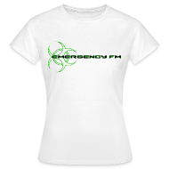 T-Shirts ~ Women's Standard T-Shirt ~ EmergencyFM Website Logo T-Shirt