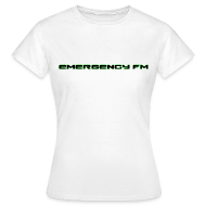 T-Shirts ~ Women's Standard T-Shirt ~ EmergencyFM Text Logo T-Shirt