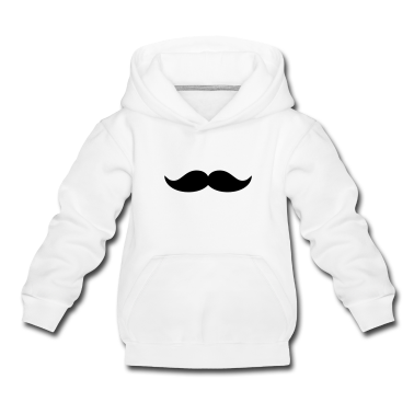 Funny Beard & Mustache Kids' Tops