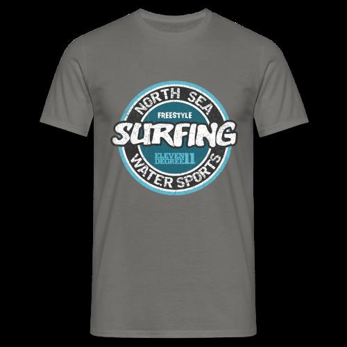 Männer T-Shirt klassisch - T-Shirts North Sea Surfing (oldstyle)