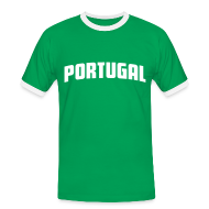 T-Shirts ~ Men's Ringer Shirt ~ Portugal Tee