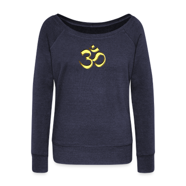 Sacred OM (AUM - I AM), gold, manifestation of spiritual strength, The energy symbol gives , peace and bliss Hoodies & Sweatshirts