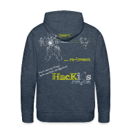 Hoodies & Sweatshirts ~ Men's Hoodie ~ HacKids re-invent Hoody