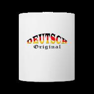 Deutsch - Original | Tasse | weiß, vorn